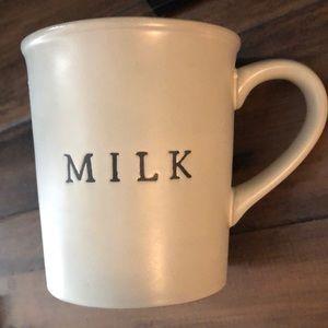 Hearth and Hand  MILK mug